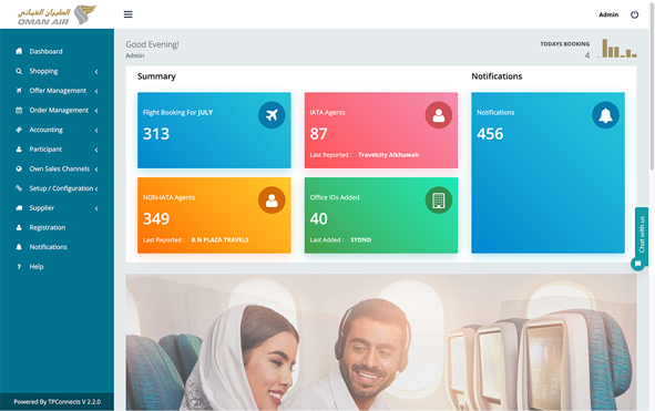 Oman Air IATA NDC Direct Connect Solution